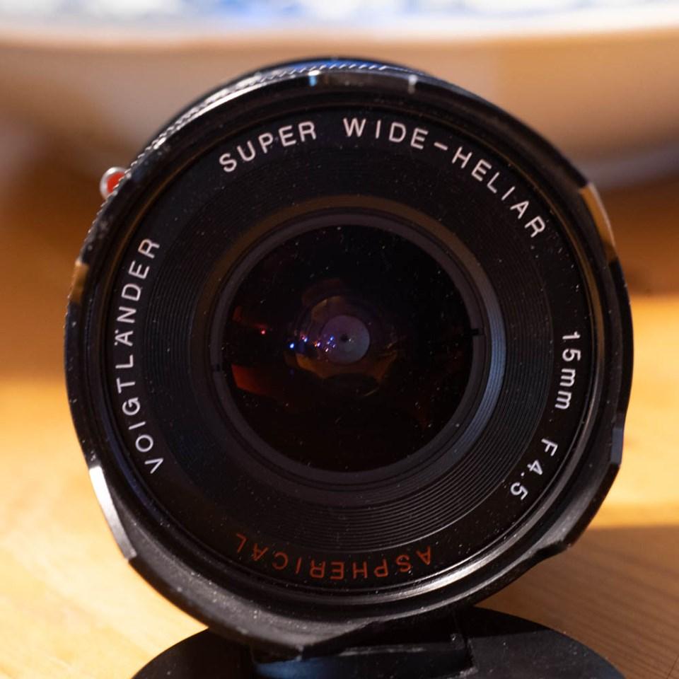 Super-Wide Heliar 15mm f/4.5